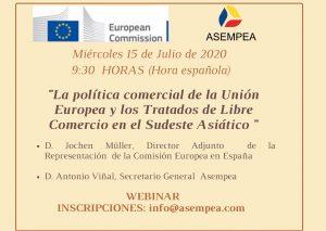 LA POLÍTICA COMERCIAL DE LA UNIÓN EUROPEA Y LOS TRATADOS DE LIBRE COMERCIO EN EL SUDESTE ASIÁTICO