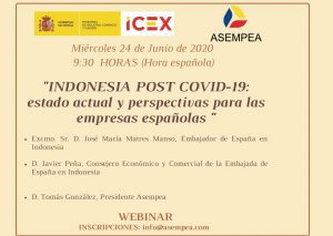 «INDONESIA POST COVID-19: estado actual y perspectivas para las empresas españolas»