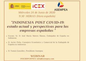 «INDONESIA POST COVID-19: estado actual y perspectivas para las empresas españolas»